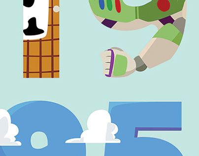 Poster exhibition- Toy Story: 19 years