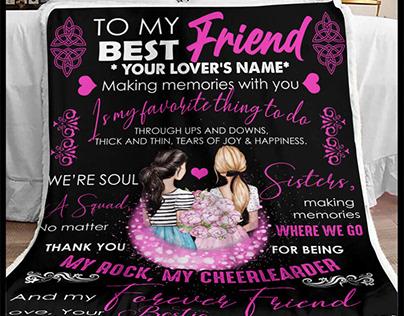 Friends Blanket by 90 LoveHome on Behance