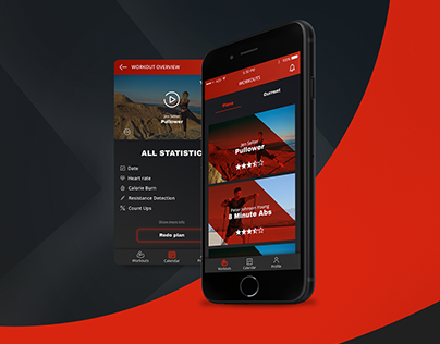HyFit - mobile app for athletes