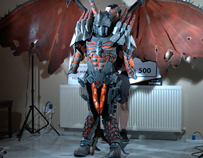 Deathwing Cosplay Assembly Video