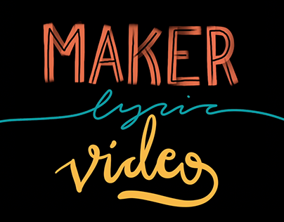 Maker lyric video