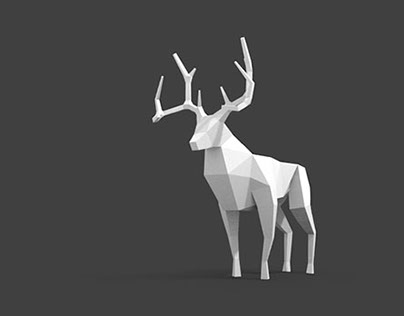 Low-Poly Deer