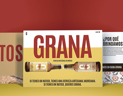 CERVEZAS GRANA - DISEÑO WEB