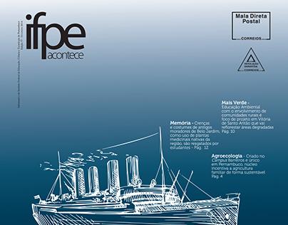 Diagramação Jornal | Revista:  IFPE Acontece