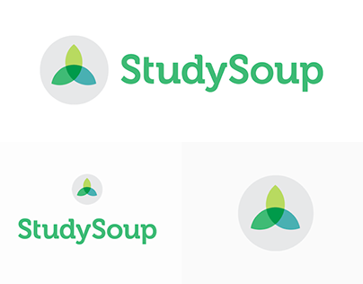 StudySoup Logo Designs on White