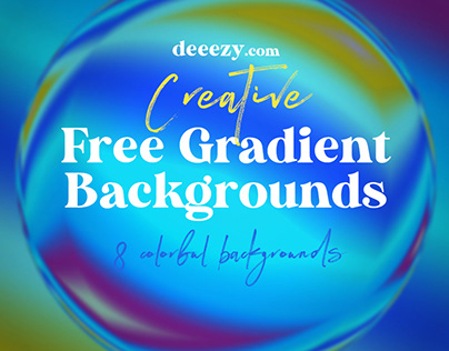 Free Creative Gradient Backgrounds