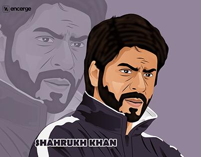 Caricature Shah Rukh Khan