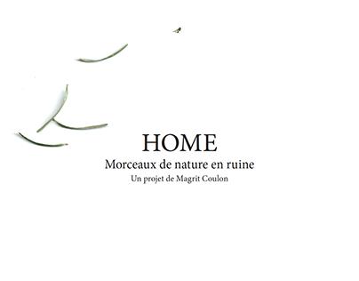 Mise en page - dossier de diffusion: HOME