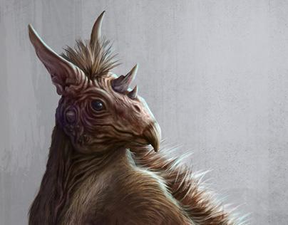 Concept art: Criatura