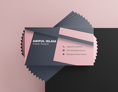 business card for a company