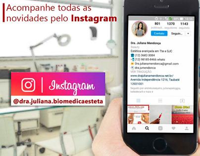 Dra Juliana Mendonça   Biomedicina Estética Avançada.
