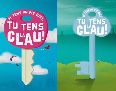 """Ajuntament de Barcelona: """"Tu tens la clau"""""""