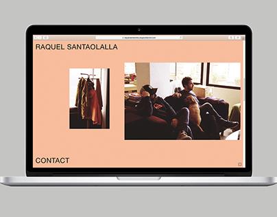 Raquel Santaolalla Website