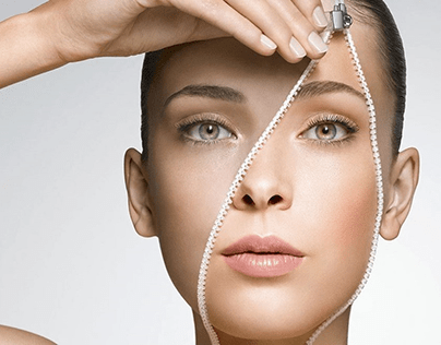 Lavender. Beauty studio website