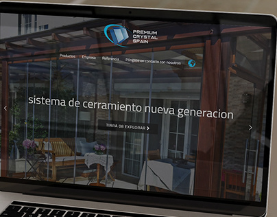 "WordPress Website & Logo for ""Preimum Crystal Spain"""