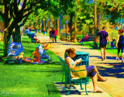 Palisades Park Vista, Santa Monica