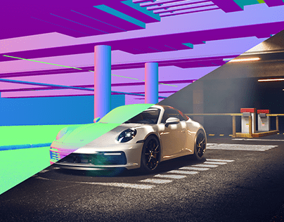 Porsche 911 FULL CGI
