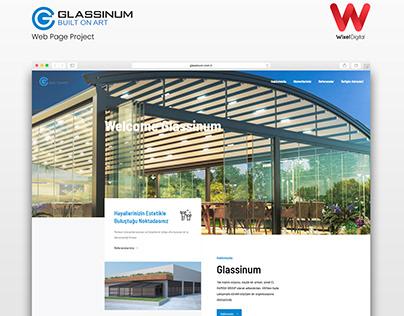 Glassinum Web Page Project