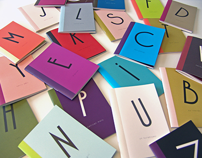 ALPHABET NOTEBOOKS