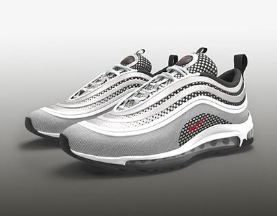 Nike Air Max 97 Sneakers 3D model