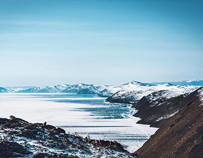 Baikal. Olkhon Island