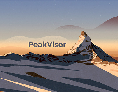 PeakVisor AppStore pages
