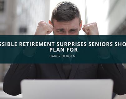 Financial Advisor Darcy Bergen Discusses Possible Retir