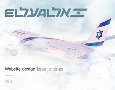 Elal // israel airline // UI