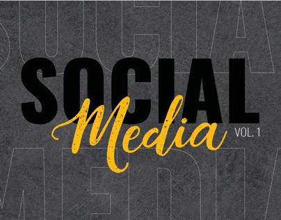 Social Media Posts- Vol. 1
