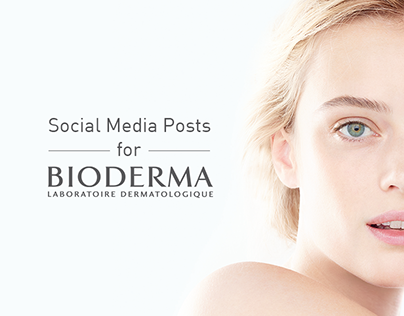 Bioderma: Social Media Posts