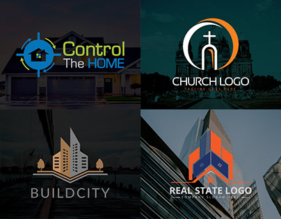 New Building Logo Design Bundle