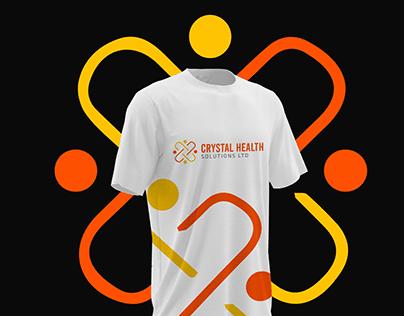 Logo Design in Kenya for Crystal Health Solutions Ltd