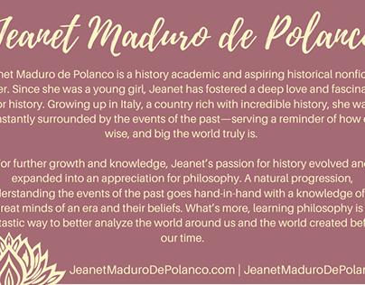 Meet Jeanet Maduro de Polanco