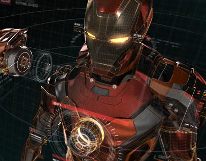 AVENGERS: Age of Ultron - UI Screen Graphics