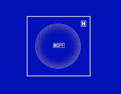 Разработка логотипа и дизайна сайта для HOPF