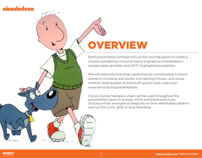 NICKELODEON LICENSING SHOW - PITCH DECK