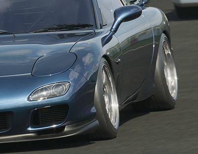 Mazda RX-7 Track Day