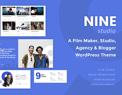 Nine Studio - A Film Maker, Studio, Agency & Blogger WP