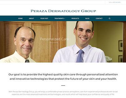 Peraza Dermatology Website Design and Email Marketing