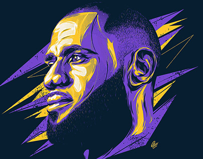 NBA Crossover - Live Art