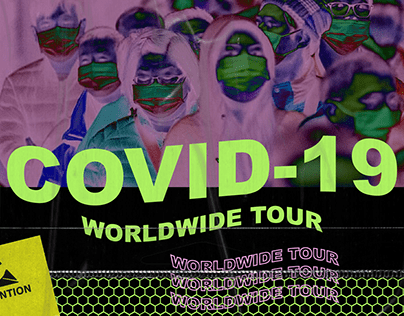 Covid-19 Worldwide Tour / Coronavirus Poster