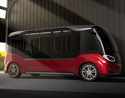 A-Star Autonomous Shuttle Bus