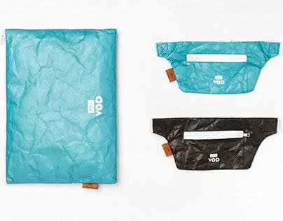 Tyvek® Laptop Case & Hip Bag for TVP VOD