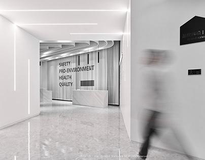 不二山人丨深圳EMTEK·质量大众展厅空间摄影
