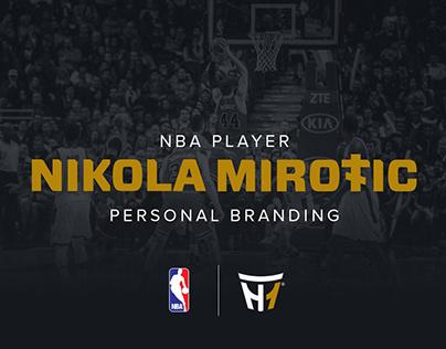 NBA Player Nikola Mirotic Personal Branding