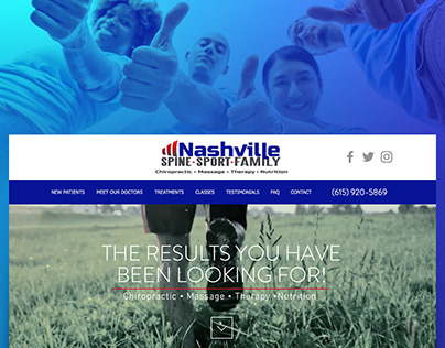 Nashville Spine, Sport & Family Chiropractic Center Web