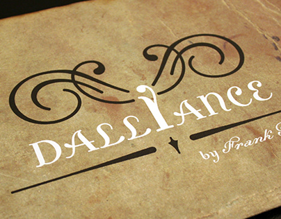 Dalliance typography poster