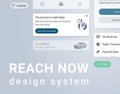 REACH NOW Design System