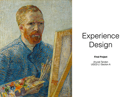 Exhibition Design: The Van Gogh Experience