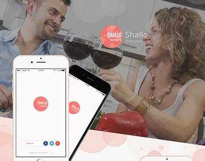 iOS Dating app Mockup